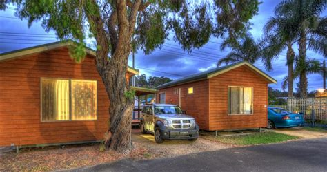 Batemans Bay Accommodation Cabins by Executive Ensuite Cabins 187 Big4 Batemans Bay At Easts