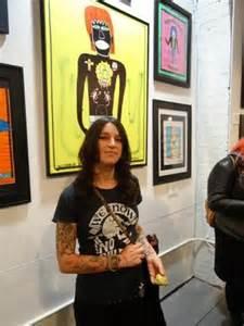 dee dee ramone s artistic side on display in new york