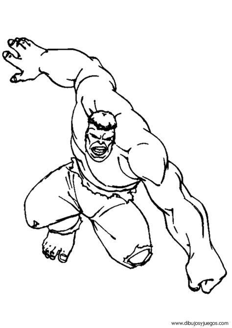 dibujos para pintar hulk dibujos de hulk 029 dibujos y juegos para pintar y colorear