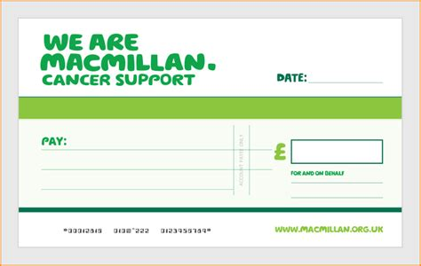Order Large Reusable Laminated Charity Presentation Cheque Large Cheques For Presentation