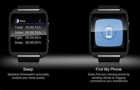 Speedup Smartwatch speedup smartwatch for ios and android phones ablogtowatch