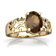 Lab Alexandrite Art Deco ring R2322 WCALX