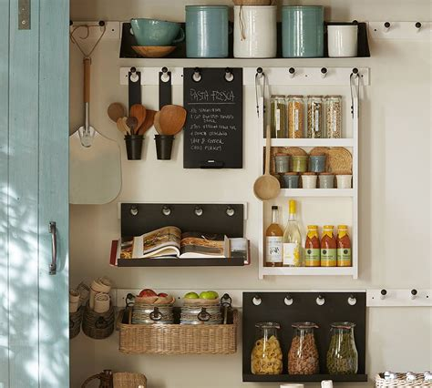 kitchen office organization ideas pottery barn kitchen wall ideas