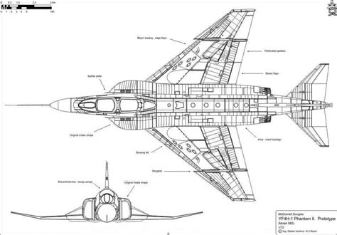 section plane engineering drawing r v aircraft all categories f 4 phantom ii 1 72