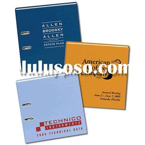 Binder Printing 1 ring binder printing ring binder printing manufacturers in lulusoso page 1