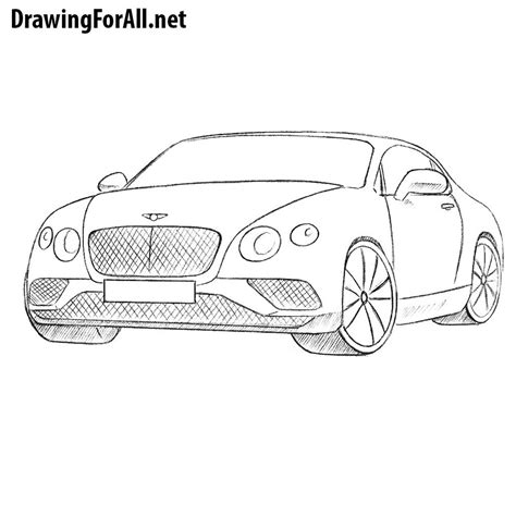 How To Draw A Drawingforall by How To Draw A Bentley Drawingforall Net