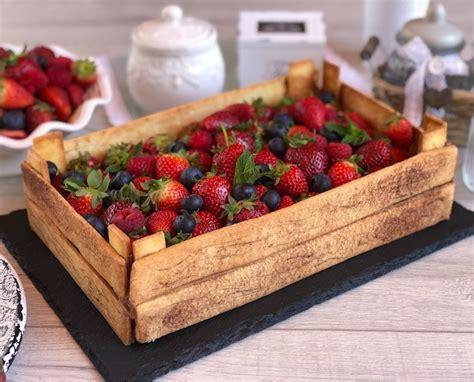 cassetta di frutta torta cassetta di frutta con tutorial passo passo