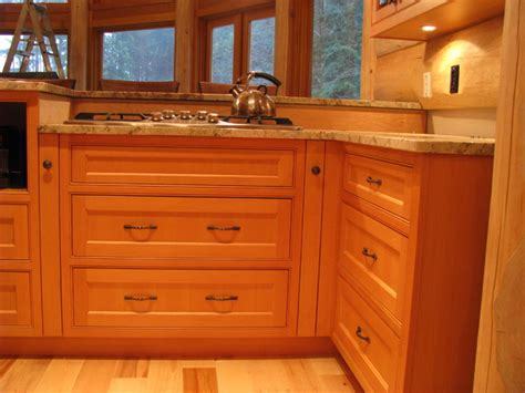 douglas fir kitchen cabinets vertical grain douglas fir customizable modular cabinets