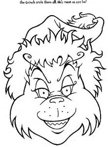 grinch coloring pages coloring pages to print