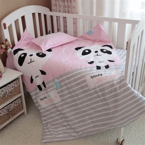 panda crib bedding baby bedding set 3pcs set crib bedding set new arrival
