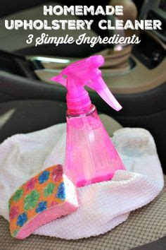 homemade upholstery cleaner for microfiber 1000 ideas about car upholstery cleaner on pinterest