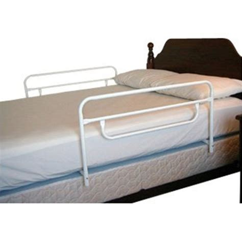 sided bed rail hide away sided bed rail white regalo