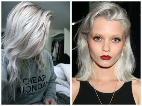 silvery blonde hair dye 1000 images about makeup hair on pinterest choppy