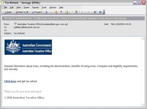 email fake bogus emails
