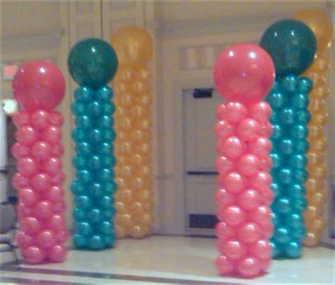 Balloon columns whims