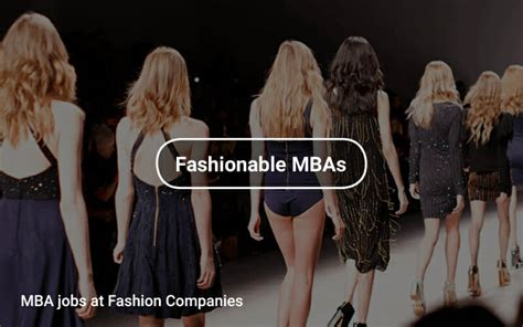 Mba Recruiters Fashion by Mba At Fashion Companies Tapwage Search