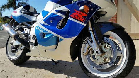 1998 Suzuki Gsxr 750 Srad 1998 Suzuki Gsxr 750 Srad Limited Edition Lot F50 Las