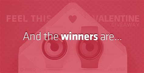 And The Winners Of Our Lulus Valentines Day Giveaway Are by Feel This And The Winner Is Feel Desain