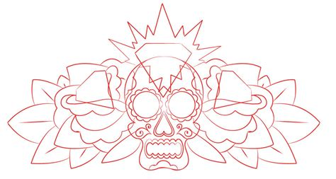 simple tattoo outlines the gallery for gt simple street sketch
