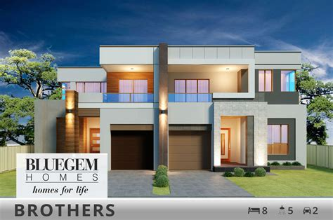 duplex house designs bluegem homes