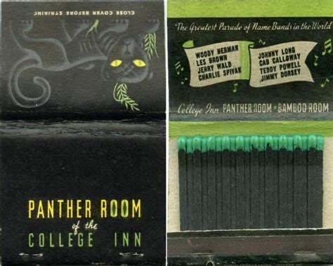 the panther room panther room malaya room bamboo room college inn sherman hotel chicago il restaurant