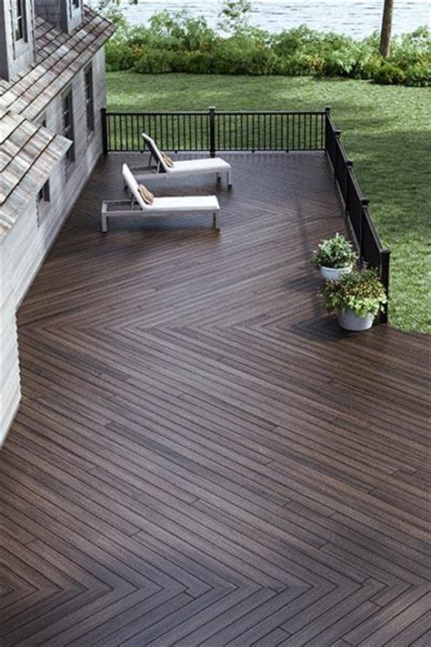 deck fence inspiration the home depot canada outdoor living pinterest decking