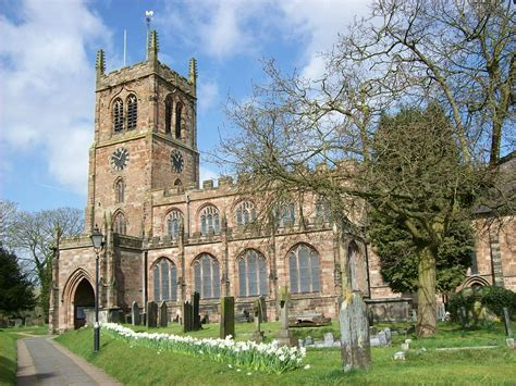 for church grade i listed churches in staffordshire