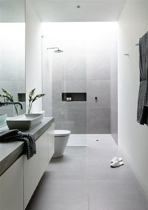 Moderne Badezimmer Weiss by Relooker Une Salle De Bain 42 Id 233 Es En Photos