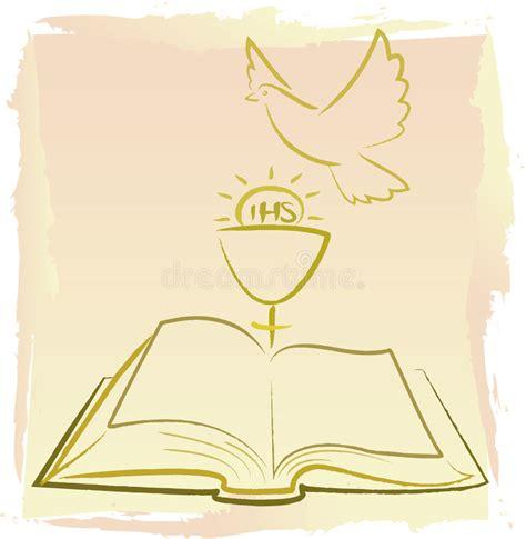 clipart prima comunione prima comunione santa spirito santo immagine stock