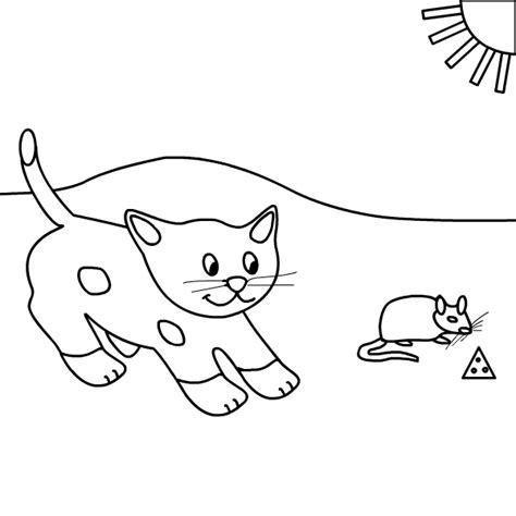 coloring pages cat and mouse cat and mouse coloring pages coloring pages