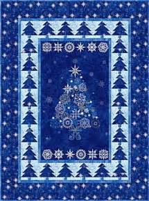 Starry Quilt Pattern by Starry Quilt Kit Pattern Metallic Stonehenge