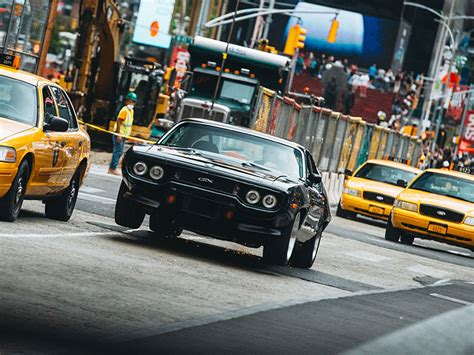 fast and furious 8 a new york see the amazing cars of fast 8 filming in new york city