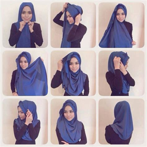 simple hijab pattern 32 best images about hijab tutorial on pinterest in