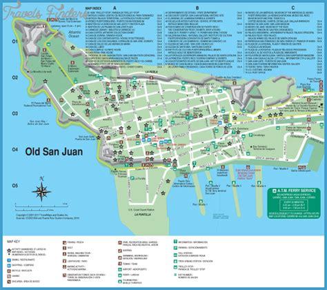 san juan map san juan map travelsfinders