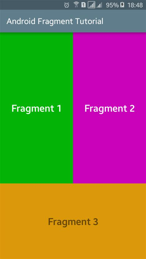android fragment android fragments tutorial with exle viral android tutorials exles ux ui design