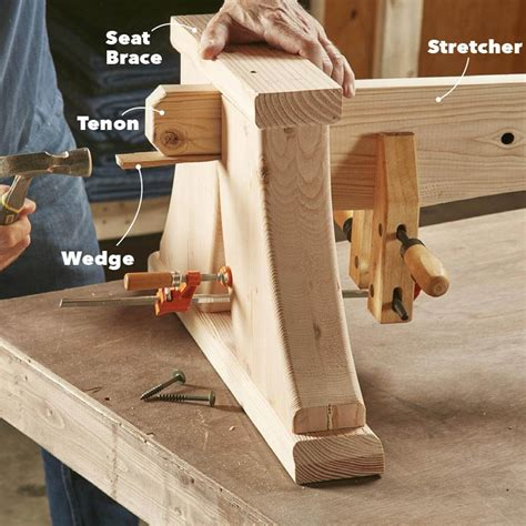heavy duty viking bench woodworking woodworking plans