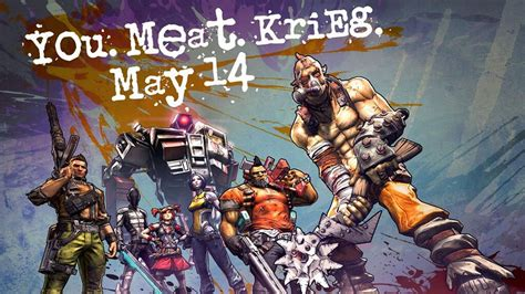 The Psycho From Heroes by Borderlands 2 S Sixth Character Krieg The Psycho Bandit