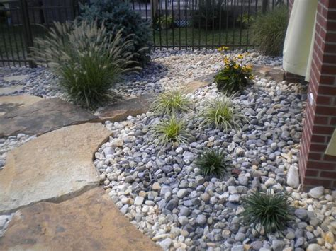 best mulch for flower beds 45 best images about rock front yard on pinterest