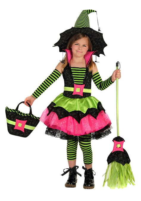 make witch costume halloween child spiderina witch costume