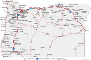 city map oregon map of oregon cities oregon road map
