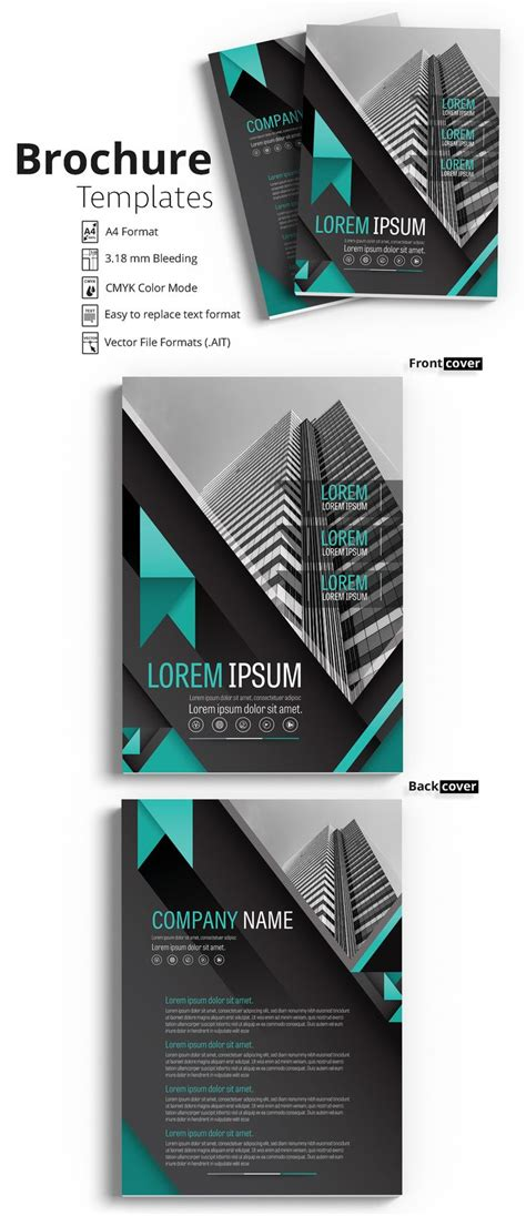 Best 25 Brochure Cover Ideas On Pinterest Brochure Design Layouts Booklet Design And Brochure Layout Template