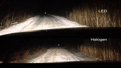 Lu Motor Led Vs Hid lifetime led headlight review halogen comparison