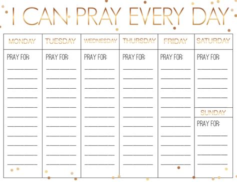 prayer calendar template blank calendar design 2017