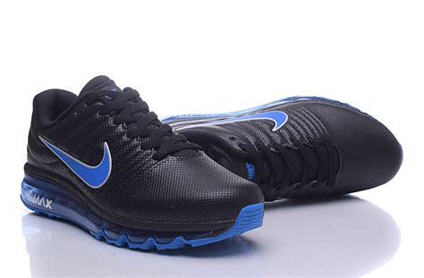 Promo Sepatu Running Nike Airmax Zoom Navy List Orange Termurah nike air max 2017 leather womens running shoes black blue