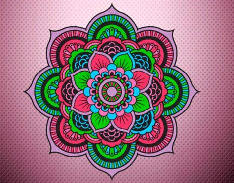 imagenes flor mandala mandalas de colores hermosos para descargar e imprimir