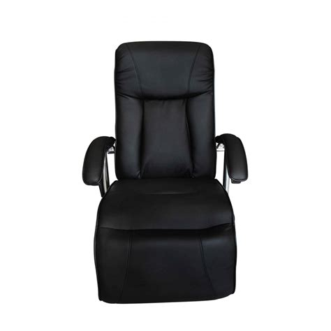 black leather massage recliner chair vidaxl co uk black artificial leather electric tv