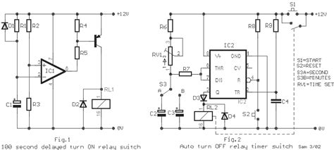Ic Chip Upc1237 relay timer switch by ic 555 and 741 electronics projects