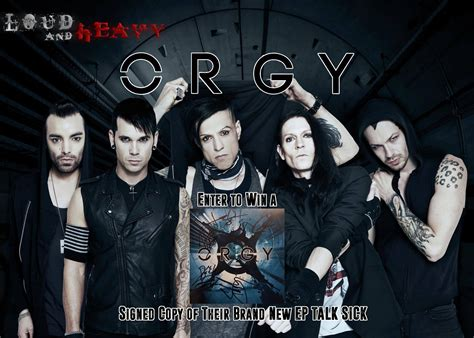 Talk Giveaways - orgy talk sick autographed cd giveaway loud heavy