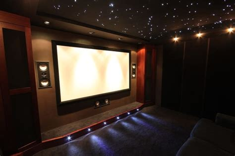 Theater Themed Living Room by Home Cinema Room Home Cinema South West