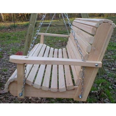 Ted S Porch Swings Rollback I Front Porch Swing Cheap